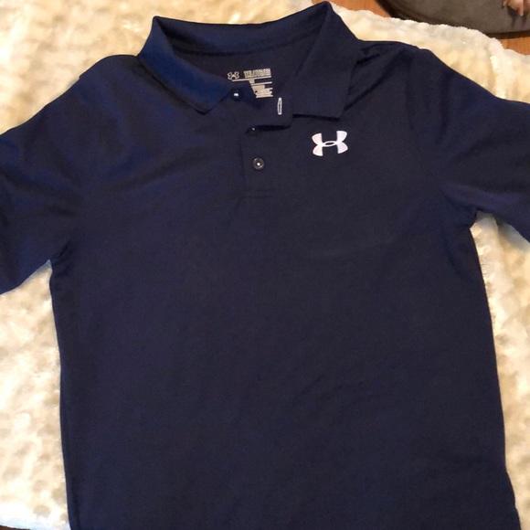 under armour boys polo shirts